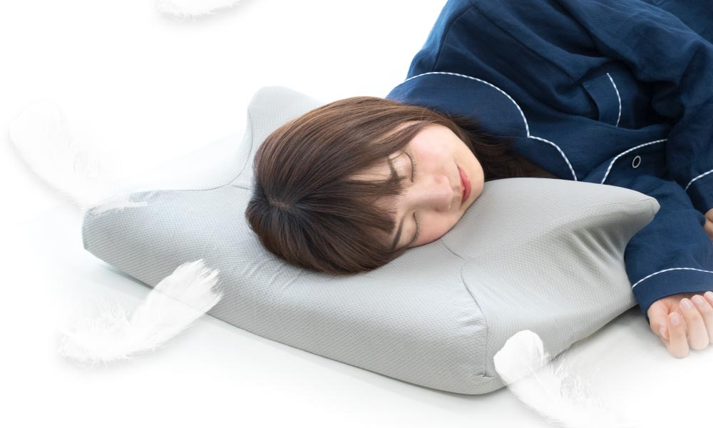 2019年枕はここまで進化した!横向き寝に特化した、いびき防止まくら